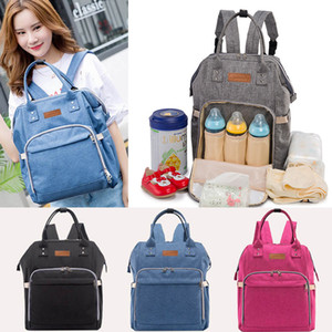 Wholesale eco maternity clothes for sale - Group buy Newest Mommy Backpack Nappies Bags Fashion Mother Maternity Multifunction Diaper Backpacks Large Volume Outdoor Travel Bags Color WX B29