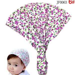 New Stylish Cotton Kids Headband Head Scarf Hair Fashion Floral Bandanas scarf
