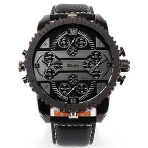 ingrosso guardare i mercati-Nuovo arrivo Oulm Radium Four Movement Prepotente Outdoor Watch Market Form L European And American Hip Hop Punk Orologio da polso Spedizione gratuita
