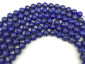 "Wholesale 4,6,8,10,12,14,16mm Natural Lapis Lazuli Bead Round Loose Stone Beads Strand 15"" For DIY Necklace Bracelet Jewelry Making"