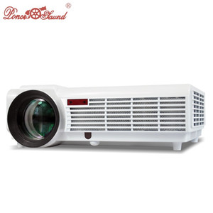 Wholesale HTP color Lumens projector Long life LED lamp Full HD LED home cinema projetor D Multimedia video proyector beamer