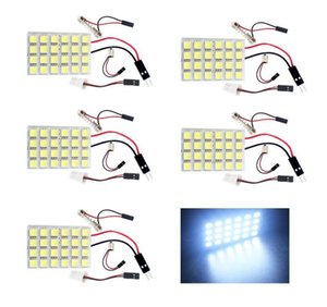 Wholesale 24 SMD COB LED T10 W V Light Car Interior Panel Lights Dome Lamp Bulb Parts