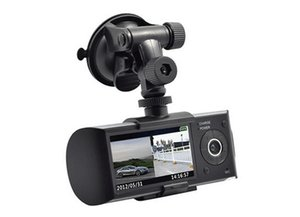 1PCS New CAR DVR detector 2.7 Inch Screen Dual Camera Car Blackbox DVR with GPS Logger and G-sensor X3000 Car Camera on Sale