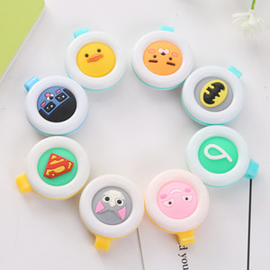 Wholesale For Children Pregnant Women Mosquito Buckle Cartoon Anti Mosquitos Pest Control Buttons Soft Repellent Clip Easy To Carry ds B R