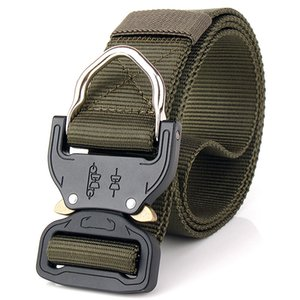 High Quality US Army Tactical Combat Belt SWAT Heavy Duty Knock Off Tactical Belt Hook Nylon Waist Belt 3.8 cm on Sale