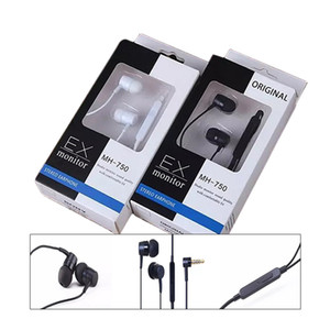 Wholesale MH In Ear mm Line control earphone stereo headsets with Mic For Samsung S6 i9800 S6Edge S5 With retail pack