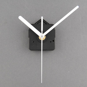 New Quartz Useful Clock Movement Mechanism Parts Repairing DIY Essential Tools With White Hands Silence