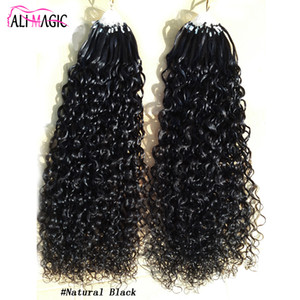 Wholesale micro loop hair extensions 1g for sale - Group buy Micro Ring Hair Extensions g Stand pieces Machine Made Remy Micro Bead Hair Loop Human Hair quot quot Butterfly Series
