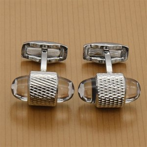 Wholesale New Luxury men Cufflink Arrival Gentleman Top Quality Cuff Links Cuffs Cufflinks Box and retail gift