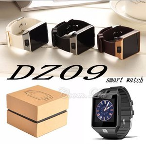 Wholesale DZ09 smart watch music player SIM Intelligent mobile phone watch can record the sleep state can fit G sd card GT08 A1 U8 also in stock