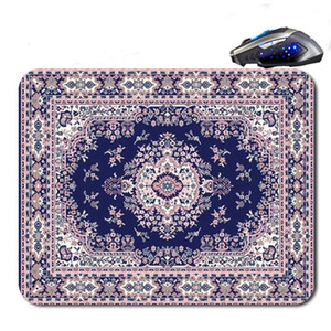 Wholesale Persian Carpet Top Sell Custom Antislip High Definition Printing Gaming Rubber Mouse Pad Cheap Computer Desk
