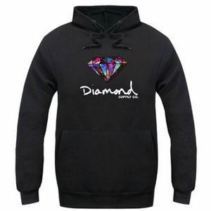 Wholesale Diamond supply co men hoodie women street fleece warm sweatshirt winter autumn fashion hip hop primitive pullover