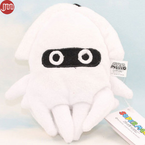 Wholesale New Super Mario Bros quot Blooper Squid Figure Soft Plush Toy Stuffed Animal Doll Hanging Mascot with Suction Button