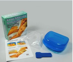 Anti Snore Stopper Kit Anti-snoring Mouthpiece Stop Snoring Snoring Cessation #807 on Sale