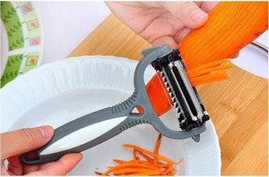 Wholesale kitchen tools for sale - Group buy 4 in Rotary Peeler Degree Carrot Potato Orange Opener Vegetable Fruit Slicer Cutter Kitchen Accessories Tools via dhl