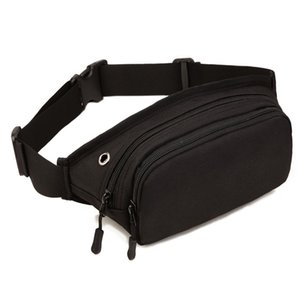 Wholesale 2017 Men Waterproof D Nylon Sling Chest Fanny Pack Waist Bag Hip Bum Belt Messenger Shoulder Pouch Purse
