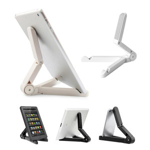 Universal Portable Adjustable Fold-up Stand Holder For iPad mini pro Samsung galaxy tab LG Tablet PC Kindle Fire Asus Retailpackage Soundmae