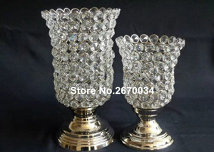 Wholesale table glasses for wedding resale online - wedding Table glass Crystal Centerpieces for Wedding Table