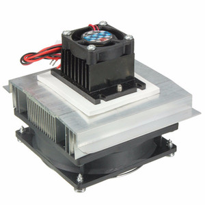 Wholesale Thermoelectric Peltier Refrigeration Cooling Cooler V Fan Radiator Peltier TEC1 System Heatsink Kit for Computer