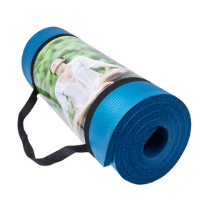Wholesale Wholesale- 15MM NBR Non-slip Yoga Mat Fitness Pilates   Pad Exercise Baby Crawling Outdoor Mat Dance (183*61*1.5 cm)