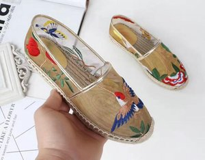 Women Bud silk gauze Shoes Real Plus Size 34-40 Women Flats Colors Customized Shoes Woman Top Quality Loafers Hemp straw Shoes