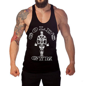 Wholesale For cool Musculation Vest bodybuilding clothing Tank Men Tops Cotton colors