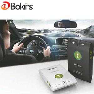 Wholesale EGTONG E Car Kit Bluetooth Speakerphone Handsfree Multifuctional Wireless Music Multipoint Auto Stereo Speaker Phone Hands Free