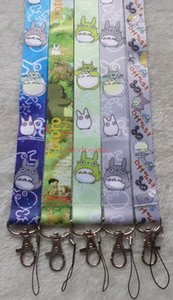 Wholesale cartoon My Neighbor TOTORO neck Lanyard Cell Phone PDA KEY ID Holder long strap