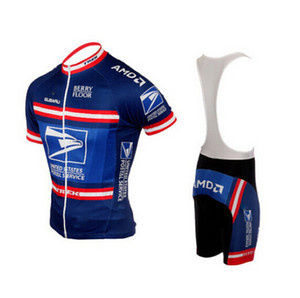 Wholesale 2019 USPS US United States Postal cycling Jersey breathable cycling jerseys Short sleeve summer quick dry cloth MTB Ropa Ciclismo B16