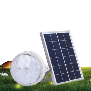Wholesale Hot sale solar panel new ceiling light led w supper bright outdoor garden wall camps long working time lights for yard house
