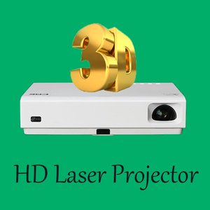 Wholesale D Full HD Projector Laser LED Projector DLP Home Video WIFI Projector Accerroires with Android Bluetooth HDMI Home Cinema
