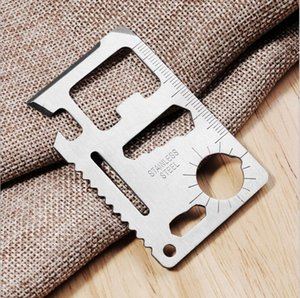 Wholesale Eco Friendly Hand Tools in Swiss Army Knife Stainless Multi function Camping Tool Card Knife Outdoor Knife Bottle Opener Propotabel