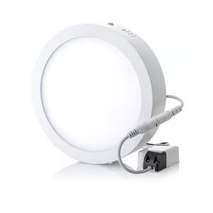 Wholesale surface mounting resale online - 6W W W w w w Round Square Led Surface Mounted Dimmable Panel Light Led Downlight lighting Led ceiling downlight V