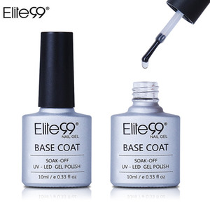 Wholesale Elite99 Base Coating For UV Gel Polish Base Coat Nail Primer Gel For Nail Art Decal Nail Art Paint Cured with UV LED Lamp ml