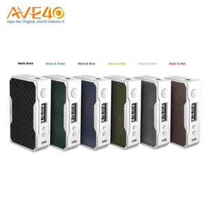 Wholesale Original VOOPOO DRAG W TC Box MOD with US GENE chip Temperature Control e cigarette W box mod Vape Pro Coil