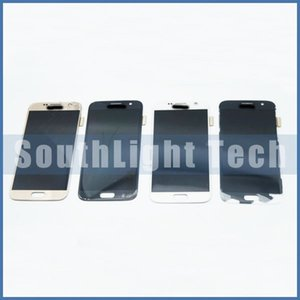 Wholesale Cracked Broken LCD Screen Refurbish Service For Samsung Galaxy S7 S7 Edge S6 Edge Plus LCD Digitizer Screen S5 S4 S3 Note