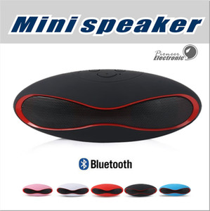 Wholesale X6 Mini Wireless Bluetooth Speakers which shape in Rugby Handsfree Portable MP3 Player Subwoofer Stereo Sound Speaker