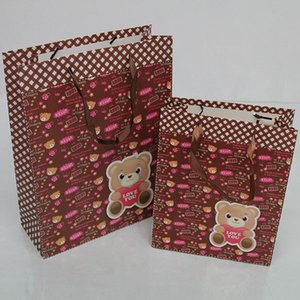 Packaging Bags for gift Customized Paper Shopping Bags with ropes handles, Personalized Bags for wedding  cloth  dress,
