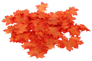 Wholesale Artificial Cloth Maple Leaves Multicolor Autumn Fall Leaf For Art Scrapbooking Wedding Bedroom Wall Party Decor Craft
