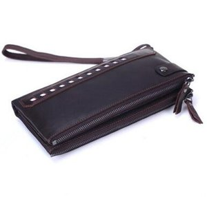 2017 new Genuine Leather Wallets Card Holder Luxury Purse Designer High Quality Business Wallet Dollar Price on Sale