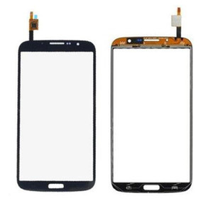 Wholesale For Samsung Galaxy Mega 6.3 i9200 i9205 Original Touch Screen Digitizer Assembly blue&white color Free Shipping