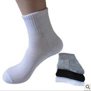 Wholesale mens socks Long Cotton Socks Male Spring Summer Soild Mesh Socks for all size clothing accessories for male