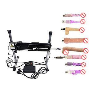 Super Silent Preminum Sex Machine with Big Dildo(26*5cm) Wire-controlled Love Machine Eight Dildo Attachments Sex Toys for Women