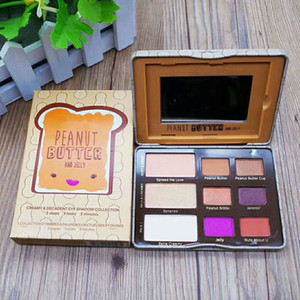 Dropshipping Faced Peanut Butter & Jelly Eye Shadow Palette 9 color eyeshadow palette