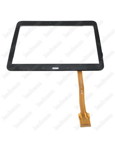 Wholesale Touch Screen Digitizer Glass Lens With Tape for Samsung Galaxy Tab P5200 Tablet PC Screens free DHL