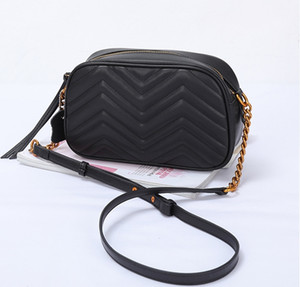 Wholesale Women Genuine Leather Cowhide Handbags Fashion Shoulder Bag With Chain