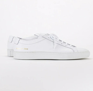 Common Projects by women Black white low top Shoes Men Women Genuine Leather Casual Shoes flats Chaussure Femme Homme on Sale