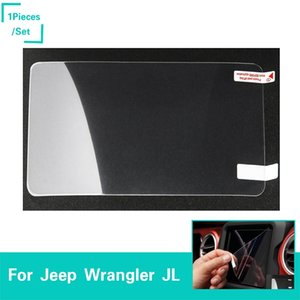 Navigation Screen Protector Clear Center Touch Screen Film For Jeep Wrangler JL 2018+ Factory Outlet High Quatlity Auto Interior Accessories