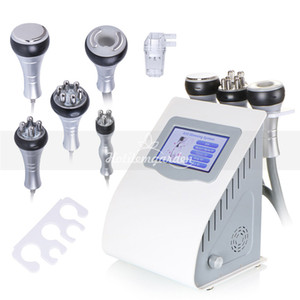 Wholesale 5 in K Cavitation Vacuum Fat Loss Sextupole Multipolar RF Lifting Slimming Machine skin tighten body shaping machine