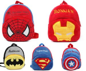 Wholesale Cute Cartoon Baby Toy School Bag Animal Shape Mini Plush Backpack Kids Outdoor Travel Pack Bag Student Kindergarten Bags DS9